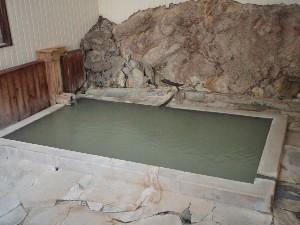 混浴岩風呂
