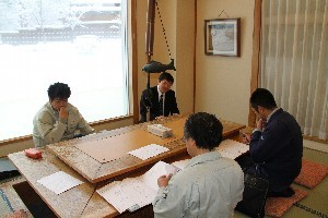 別館改修打ち合わせ会議