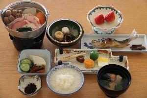 元泉館温泉おかゆ定食