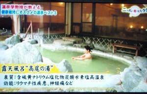 テレビ東京『たけしのニッポンのミカタ!』・失敗しない!?温泉術