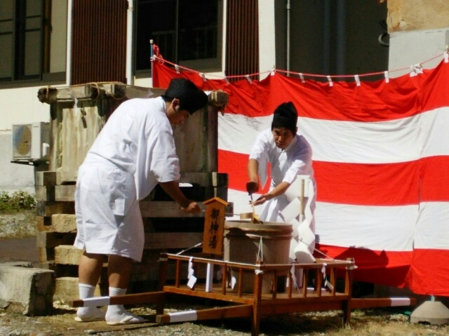 塩原温泉古式湯まつり